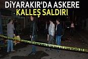 Diyarbakır'da Astsubaya Kalleşce Silahlı Saldırı