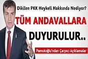 Osman PAMUKOĞLU'ndan Dikilen PKK'lı Heykeli Hakkında Açıklama Geldi