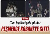 Peşmerge Kobani'ye Geçti İZLE