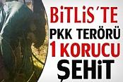 Bitlis'de Kaçırılan Korucu Şehit Edildi