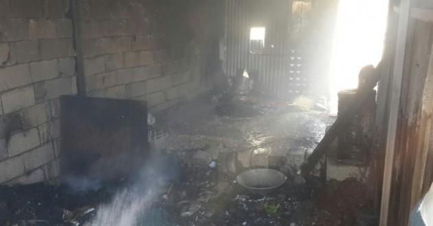 Van'da Tandırlık Yangını Korkuttu